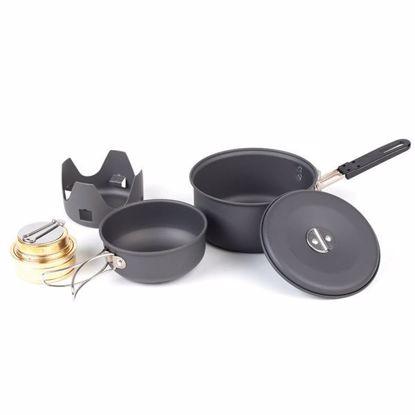 NDUR Mini Cookware Kit w/alcohol burner