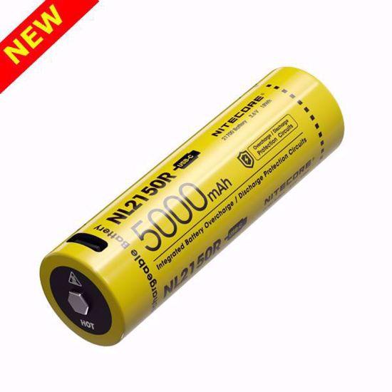 NItecore NL2150R 5,000mAh Li-ion USB-C Rechargeable Battery