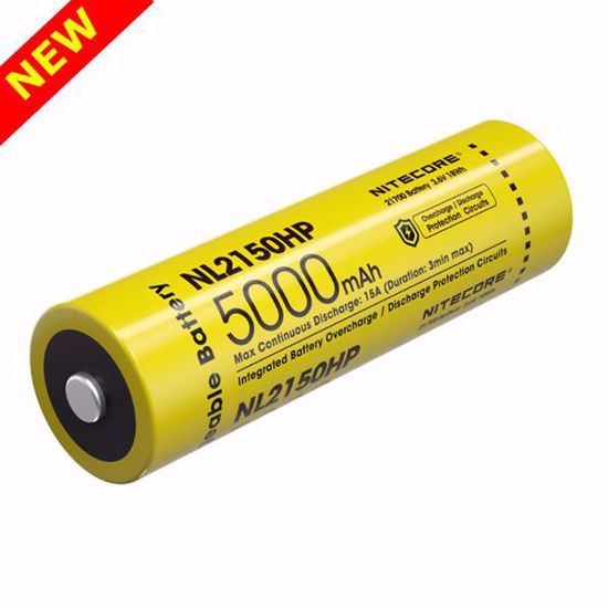 Nitecore NL2150HP 21700 Series  5,000mAh 15A Li-ion Battery