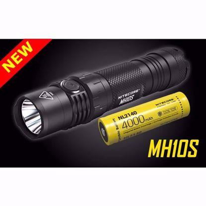 Nitecore MH10S 1800 Lumen USB-C Rechargeable Flashlight w/21700 4,000 mAh Battery